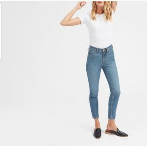 EVERLANE High Rise Ankle Jean